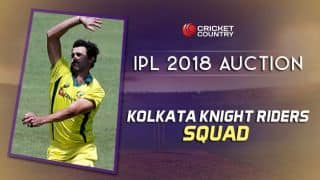 Kolkata Knight Riders (KKR) team squad for IPL 2018: Final list of players after auction