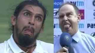 Watch Brett Lee, Matthew Hayden, Mayanti Langer and others take Ishant Sharma weird face challenge