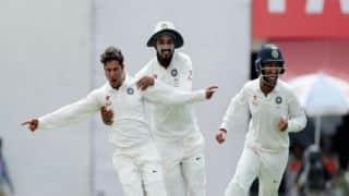 भारत बनाम ऑस्ट्रेलिया, चौथा टेस्ट(हाईलाइट्स): धर्मशाला टेस्ट के पहले दिन चमके कुलदीप यादव