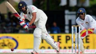 Rohit Sharma dismissed for 34 in 2nd Test against Sri Lanka at Colombo