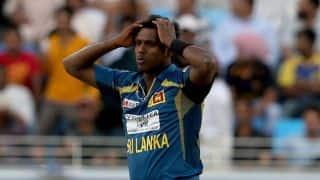 Mathews: Sri Lanka may be 'rusty' during Test series