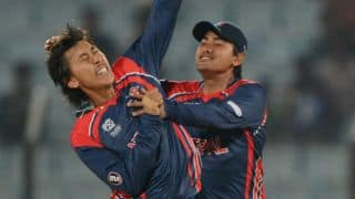 Nepal register stunning 9-run victory over Afghanistan in ICC World T20 2014 Qualifying Group A match