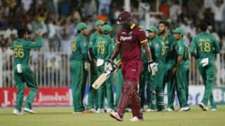 Match Report: Azam, Nawaz star as Pakistan thrash West Indies by 111 runs
