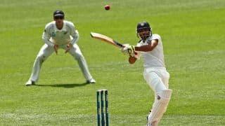 India vs England 2014 1st Test at Trent Bridge: Ravindra Jadeja, Stuart Binny steady India; score 207/6