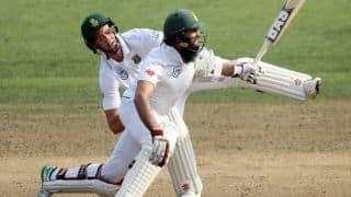 Watch Hashim Amla-Theunis de Bruyn's hilarious mix-up during Day 4, 3rd Test between New Zealand vs South Africa