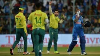 3rd T20I: Disciplined South Africa tie down India after Dhawan blitz