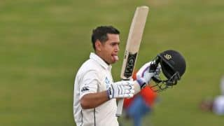Ross Taylor's 102* helps New Zealand set 369-run target vs Pakistan in 2nd Test at Hamilton