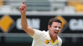 Josh Hazlewood's 5-wicket haul on debut helps Australia bowl India out for 408 at lunch on Day 2 of 2nd Test at Brisbane