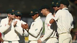 Live Cricket Scorecard, New Zealand vs Australia 2015-16, 1st Test, Day 4 at Wellington