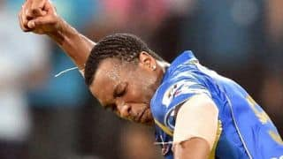 Kieron Pollard takes sensational catch to dismiss Kevon Cooper in Rajasthan Royals vs Mumbai Indians, IPL 2014