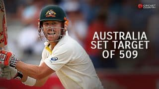 England begin chase of 509 against Australia in 2nd Ashes 2015 Test at Lord's