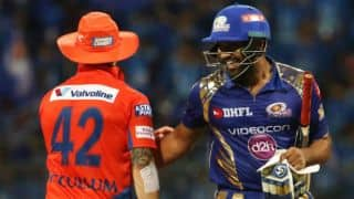 Mumbai Indians (MI) vs Gujarat Lions (GL), IPL 2017, match 16: Aaron Finch's luggage does not arrive and other highlights