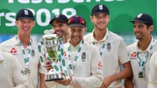 Joe Root hails Alastair Cook, James Anderson in 'very gratifying' series win