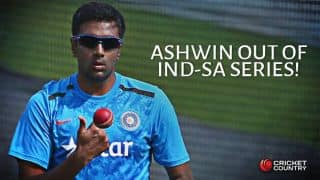 Ravichandran Ashwin ruled out of India vs South Africa 2015 ODI series; Harbhajan Singh named replacement