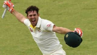 Mitchell: Was a bit emotional after scoring maiden hundred