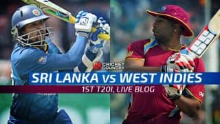 SL win by 30 runs, go 1-0 up I Live Cricket Score Sri Lanka vs West Indies 2015, 1st T20 at Pallekele