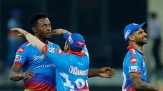 Kagiso Rabada on back to back two defeat of Delhi Capitals: we need to work of few things
