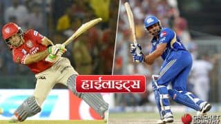 IPL 2017, Highlights in Hindi: Jos Buttler's aggressive inning helps Mumbai Indians registering it's 5th consecutive win