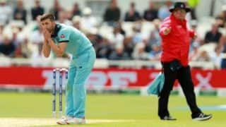 Cricket World Cup 2019: Mark Wood could miss West Indies clash following ankle issues