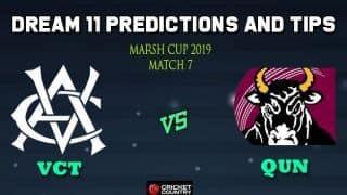 Dream11 Team Victoria Men vs Queensland Bulls, Match 7 Marsh One-Day Cup 2019 Australian ODD – Cricket Prediction Tips For Today's Match VCT vs QUN at St Kilda