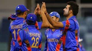 Live Cricket Score, UAE vs Afghanishtan, 3rd ODI at Dubai: Afghanistan win by two wickets