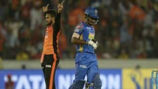 IPL 2018, RR vs SRH, Full Cricket Score and Updates, Match 28: SRH win by 11 runs