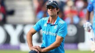 Alastair Cook bemoans middle-order's ineptitude against Indian spinners for England's loss in 3rd ODI