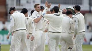 वेलिंगटन टेस्ट: टिम साउदी ने लिया शानदार 5 विकेट हॉल; पहले दिन श्रीलंका 275/9