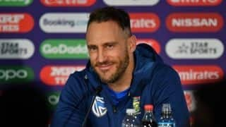 Hard to look past Australia's World Cup success, their confidence is just like an extra player: Faf du Plessis