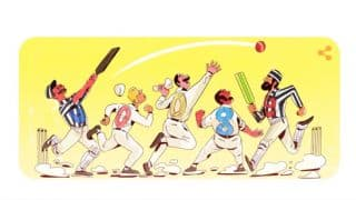 Google celebrates 140th Test Cricket Anniversary with special doodle