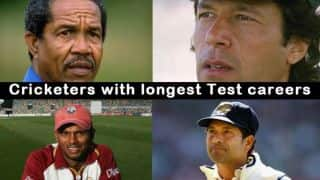 Cricketers with longest Test careers