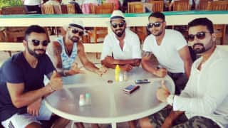 PHOTO: Kohli and co enjoy ahead of 2nd Test vs WI