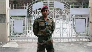 Video: MS Dhoni was seen playing volleyball with battalion of Territorial Army