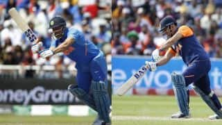 ICC Cricket World Cup 2019: Arun Pandey explains why MS Dhoni is using different bats