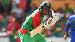 Mahmudullah dismissed for five in Bangladesh vs Pakistan 1st ODI at Dhaka