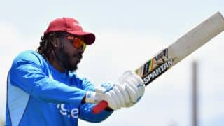 Chris Gayle included in West Indies' squad for ICC World Cup Qualifiers 2018