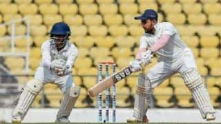 Ranji Trophy final: Gritty Saurashtra battle hard to spice up final against Vidarbha