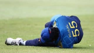 Injured Kusal Perera ruled out of South Africa ODIs