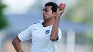 Jaydev Unadkat suggests face masks for bowlers following nasty blow to Ashok Dinda