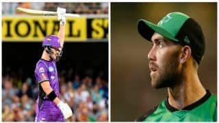 D'arcy Short earns maiden T20I call-up; Glenn Maxwell returns for Australia Tri-Series 2017-18