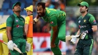 Pakistan World Cup selection: Umar Akmal, Ahmed Shehzad and Wahab Riaz not summoned by PCB for fitness test