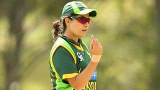 ICC Women's World Cup 2017: Sana Mir says Pakistan wants to register their 1st win