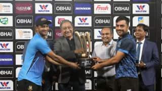 Bangladesh vs Afghanistan Tri Series Final abandoned