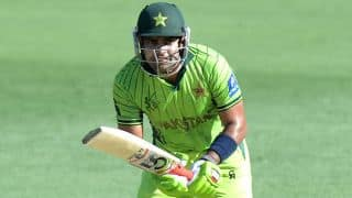 Umar Akmal thanks almighty for Misbah- Ul- Haq's retirement