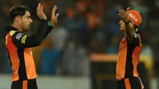 IPL 2018: Rashid Khan feels he is playing in Afghanistan