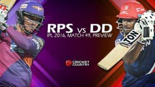Rising Pune Supergiants (RPS) vs Delhi Daredevils (DD), IPL 9 Predictions and Preview: Delhi aim for big win over struggling Supergiants in Match 49