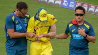 Dislocated shoulder sends Jhye Richardson home from UAE