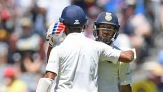 Debutant Mayank Agarwal shines as India make solid start to third Test