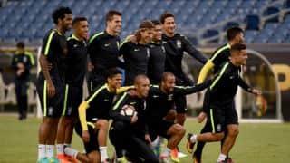 BRA 0-1 PER, HT   Live Football Score, Brazil vs Peru, Copa America Centenario 2016, Match 20 at Foxborough