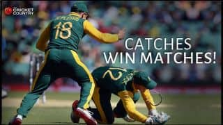 Video: Quinton de Kock's amazing catch in South Africa vs Sri Lanka Quarter-Final match